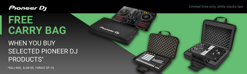 Pioneer DJ - Free Carry Bag Promotion