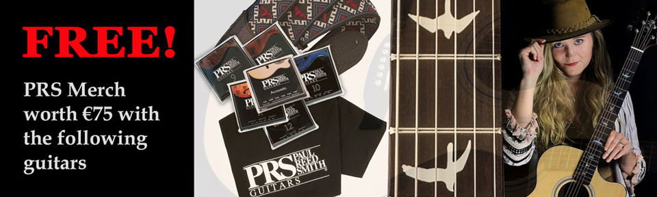 PRS Promotion - FREE Merch