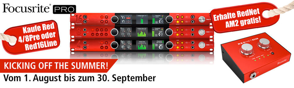 Focusrite Red Promotion