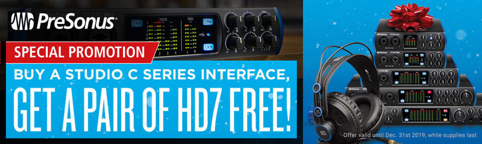 PRESONUS HD7 Promotion