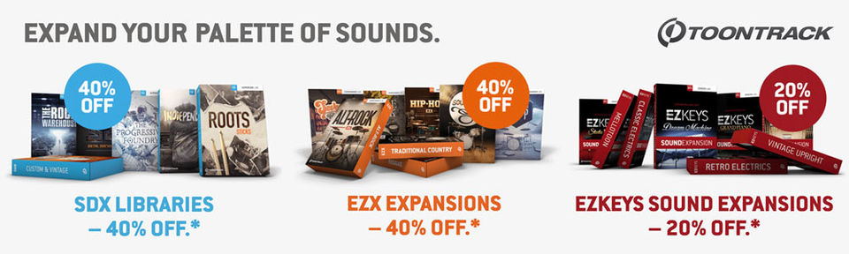 TOONTRACK SUMMER DEALS