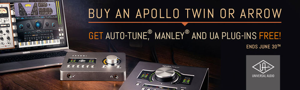 UA Apollo Twin / Arrow Promotion