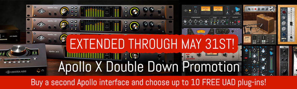 UA Apollo X Double Down Promotion