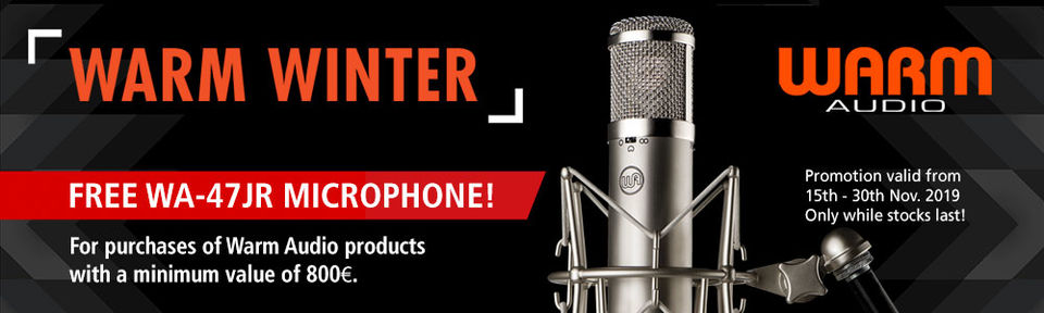 Warm Audio - Warm Winter Promotion