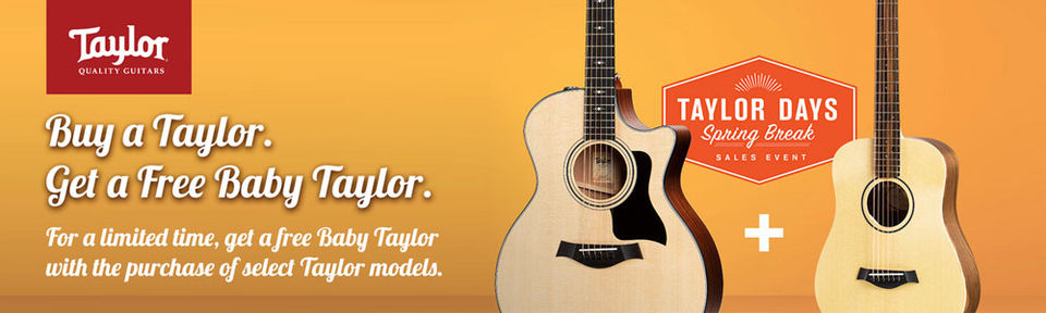 Taylor Days - Spring Break Promotion