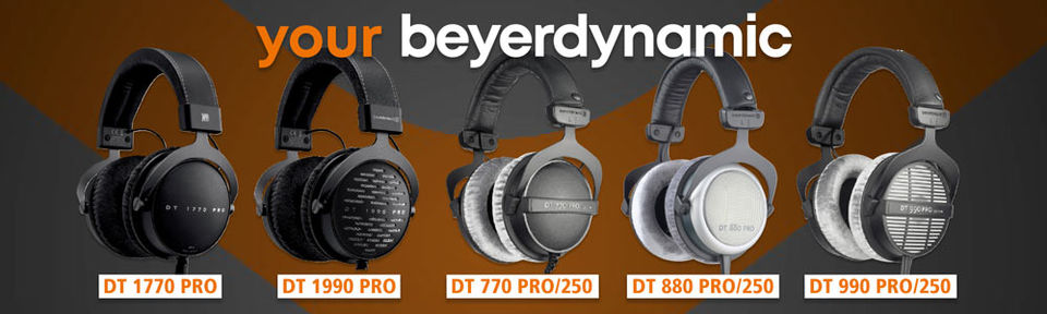 your beyerdynamic Headphones