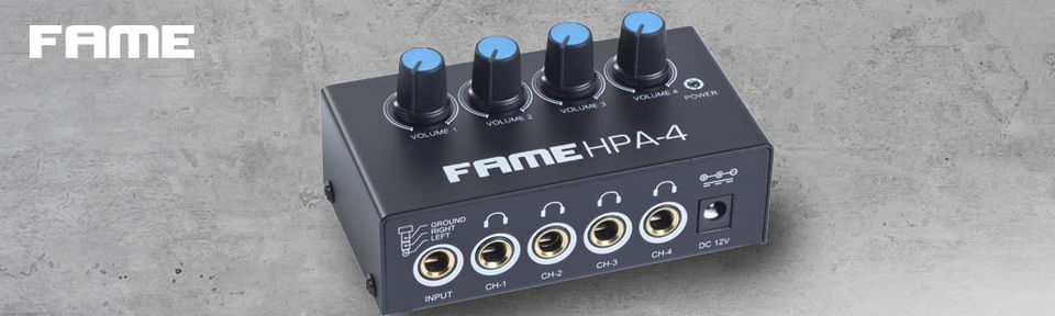 Fame HPA-4 Headphone Amp